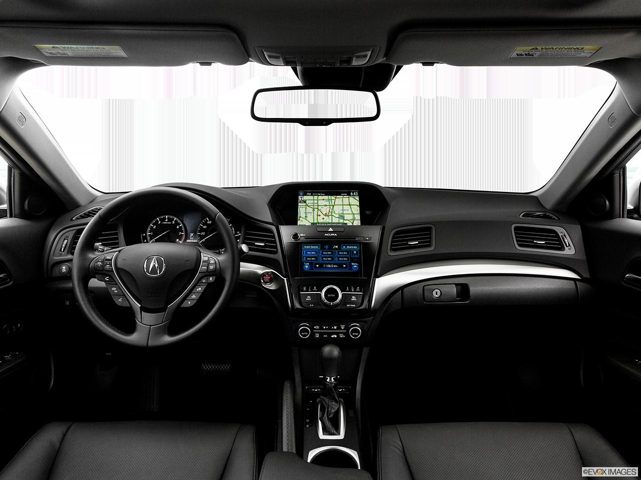 Interior View Of 2017 Acura ILX in San Bernardino