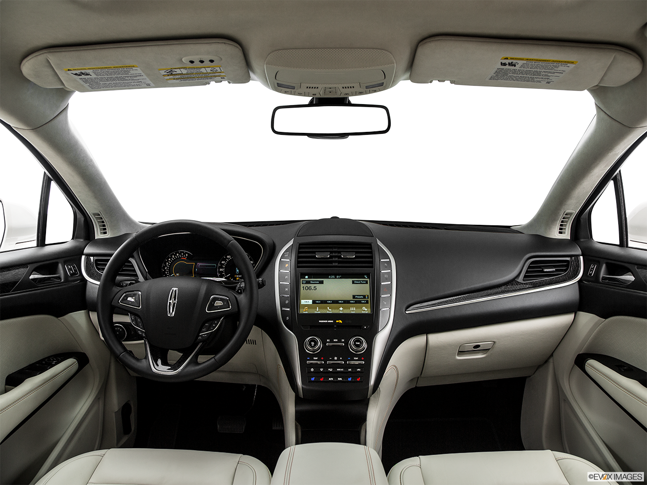 Interior View Of 2017 Lincoln MKC in Los Angeles