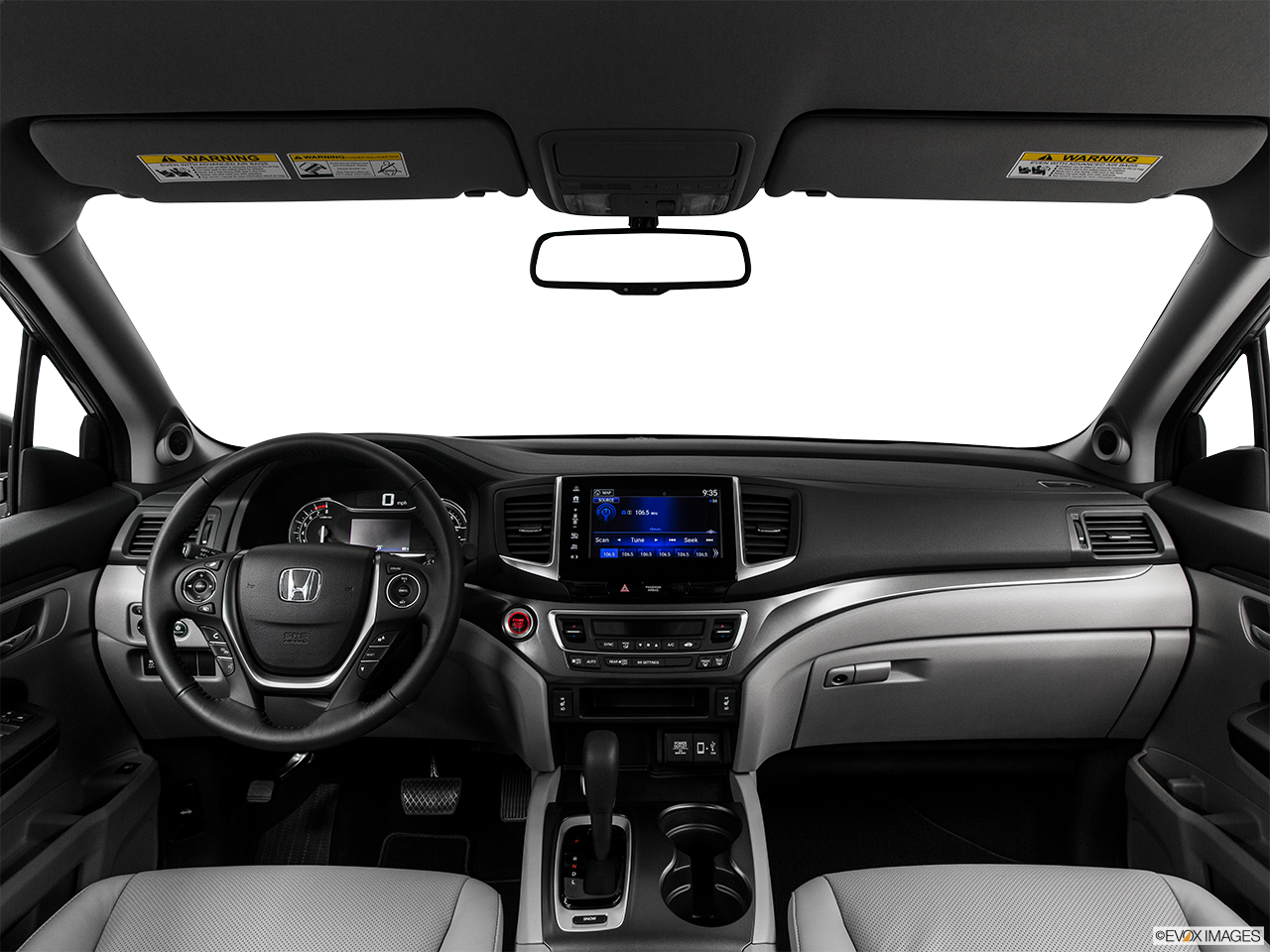Interior View Of 2017 Honda Ridgeline near San Diego