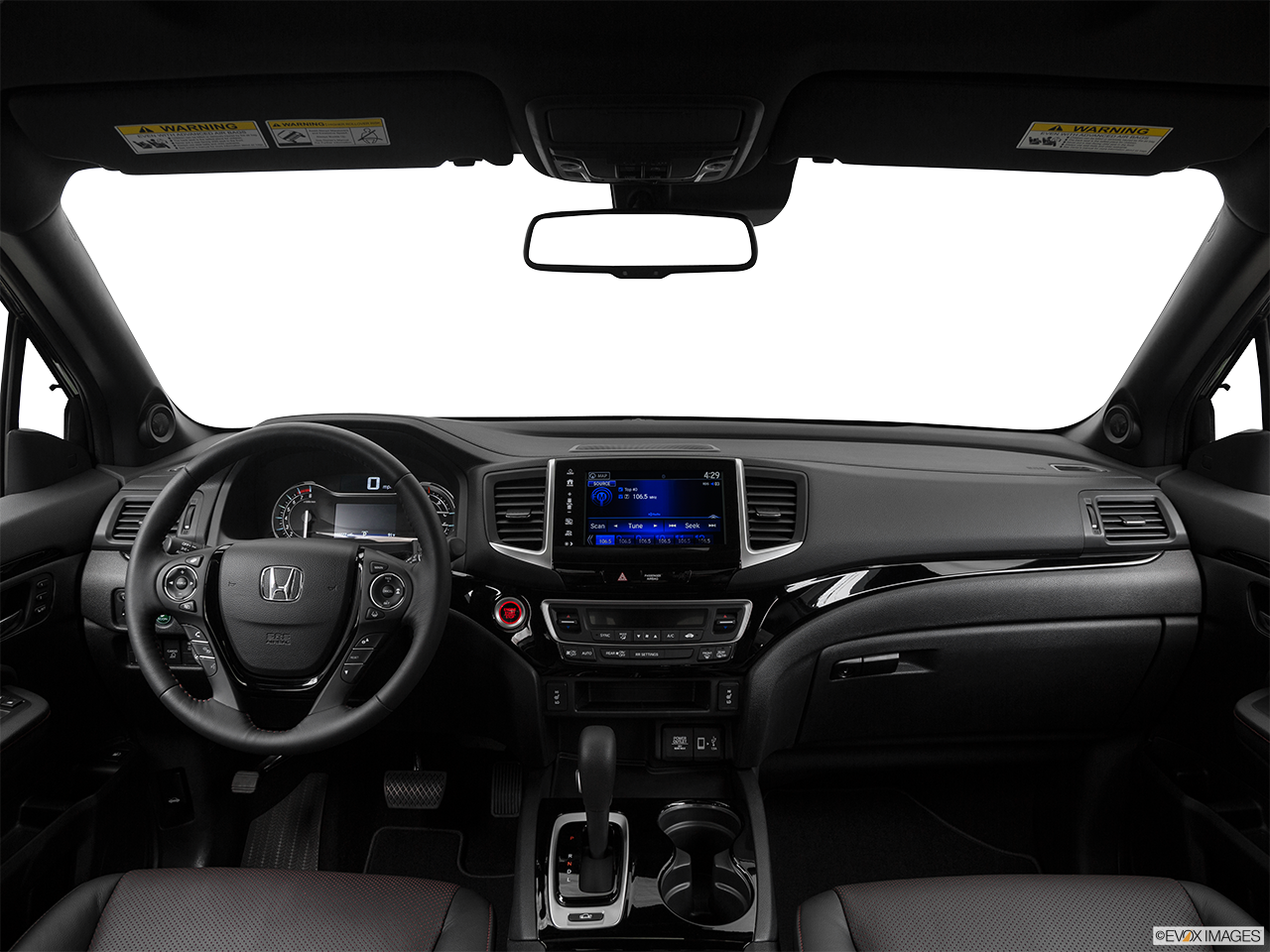 Interior View Of 2017 Honda Ridgeline in Los Angeles