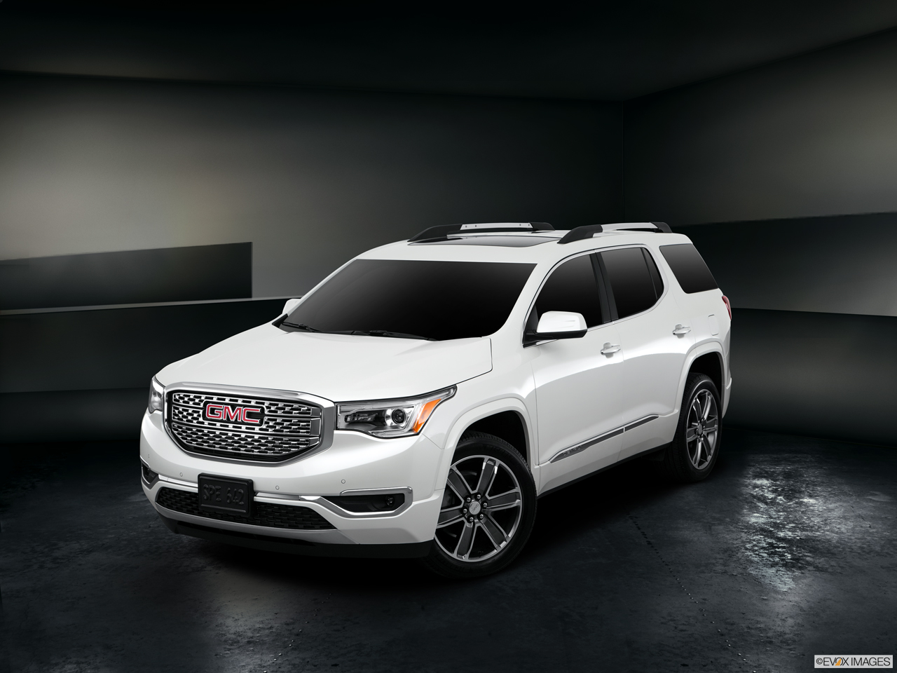 Exterior View Of 2017 GMC Terrain in Costa Mesa