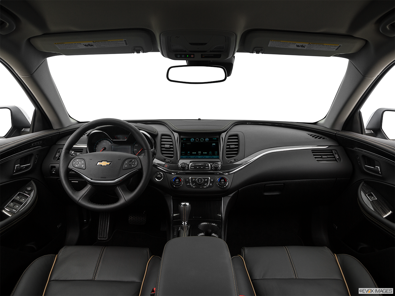 Interior View Of 2017 Chevrolet Impala In Newport News