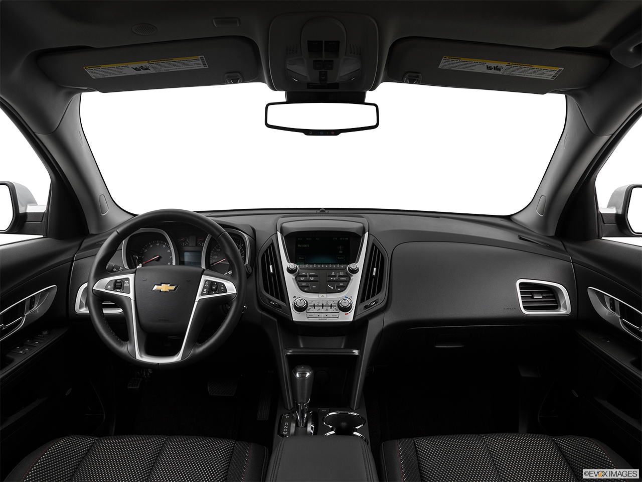 Interior View Of 2017 Chevrolet Equinox In Reno