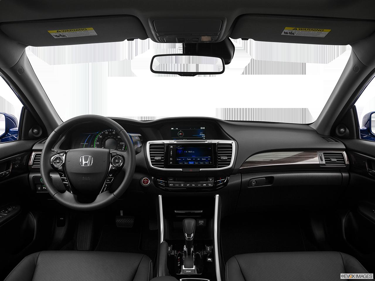 Interior View Of 2017 Honda Accord near San Diego
