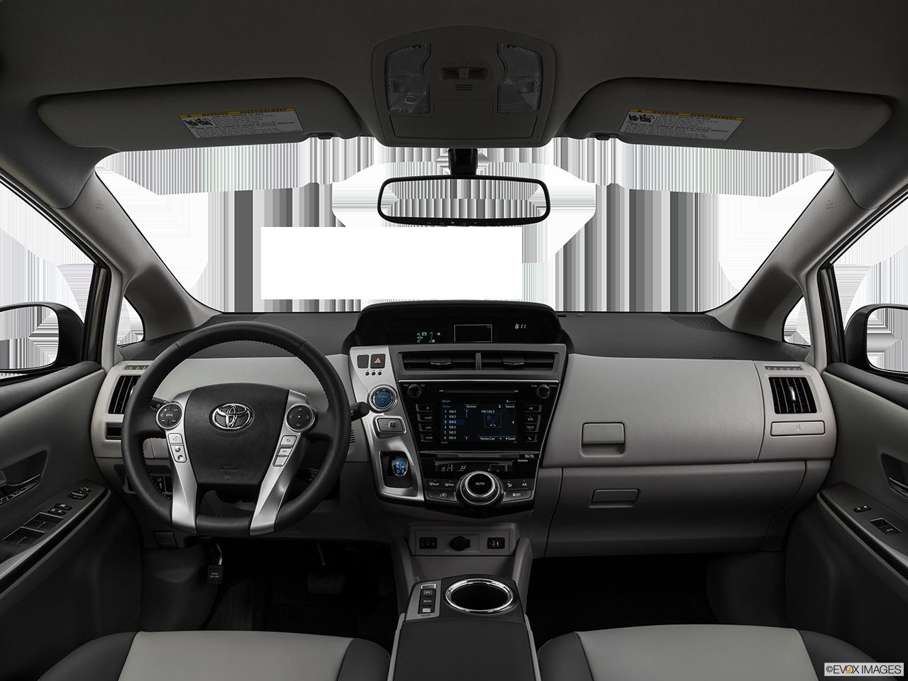 Interior View Of 2017 Toyota Prius v in Sacramento
