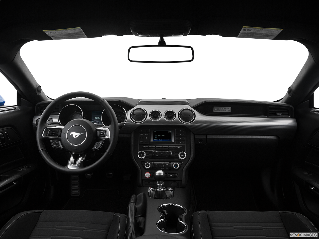 Interior View Of 2017 Ford Mustang in Huntington Beach