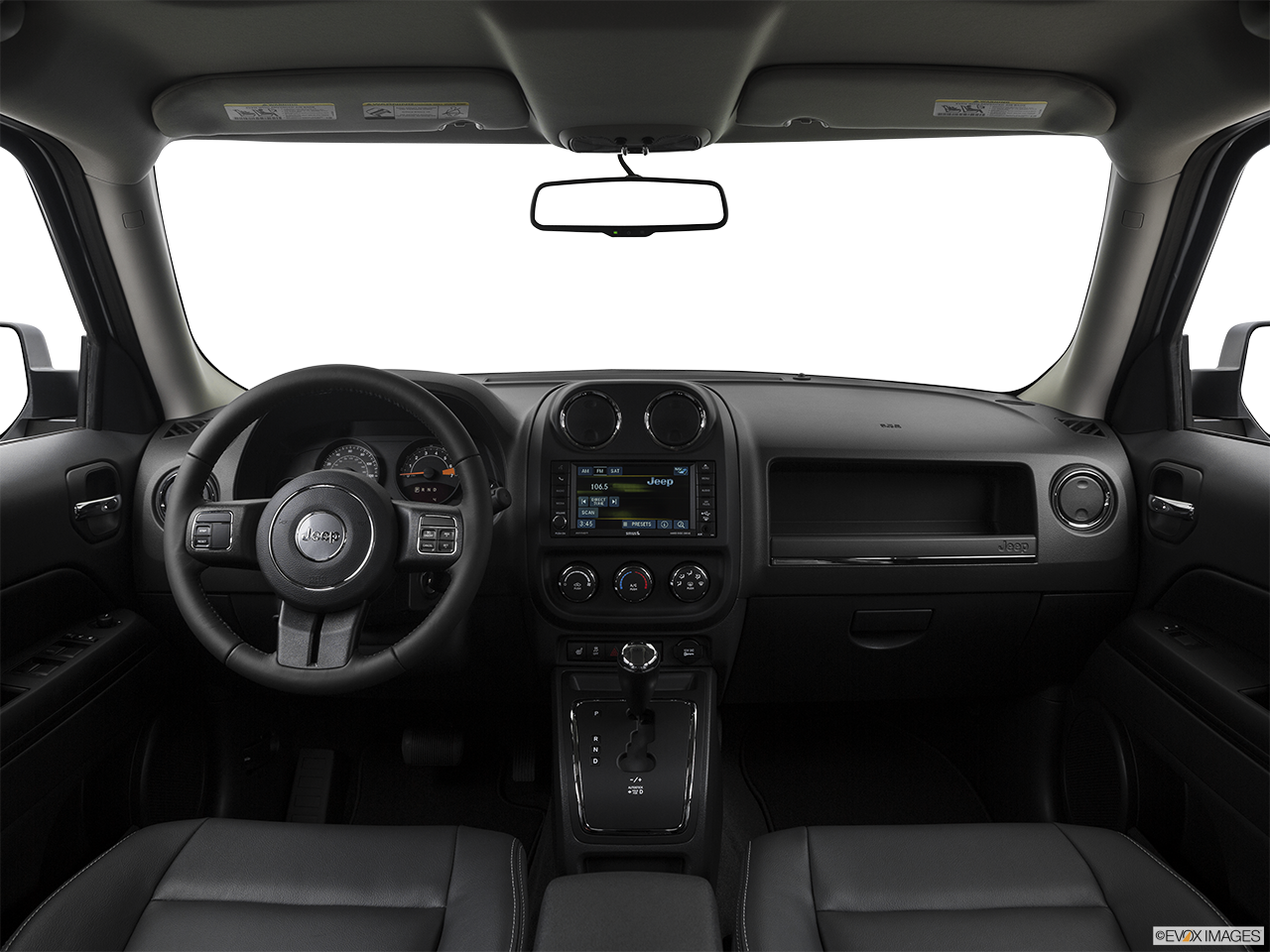 Interior View Of 2017 Jeep Patriot in La Mesa