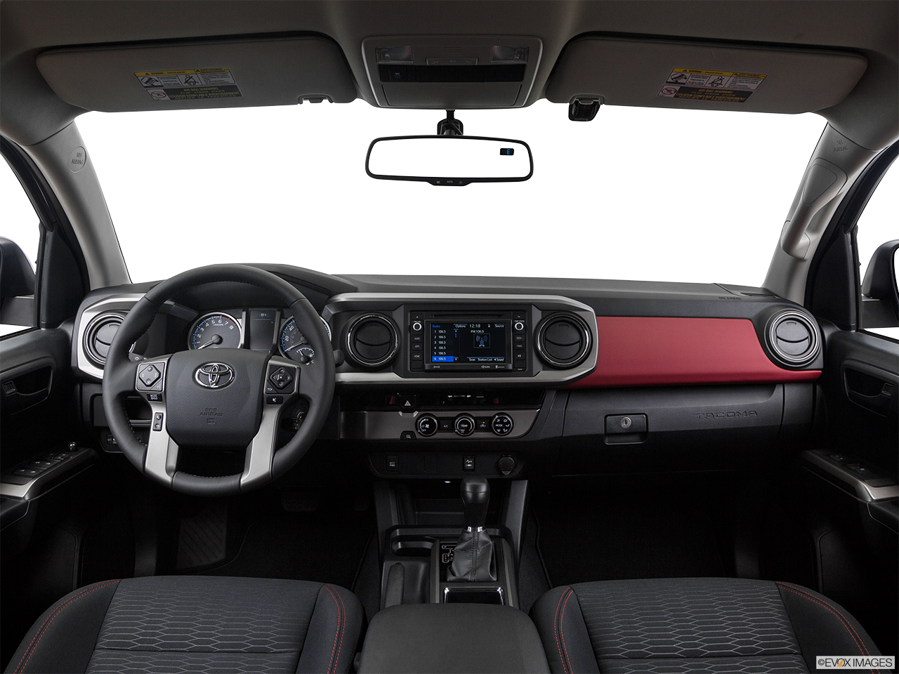 Interior View Of 2017 Toyota Tacoma in Moreno Valley