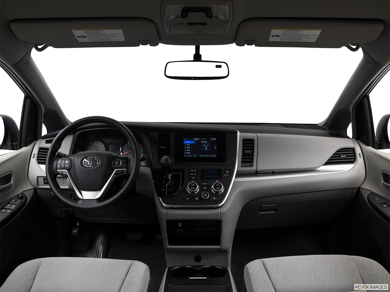 Interior View Of 2017 Toyota Sienna in Moreno Valley