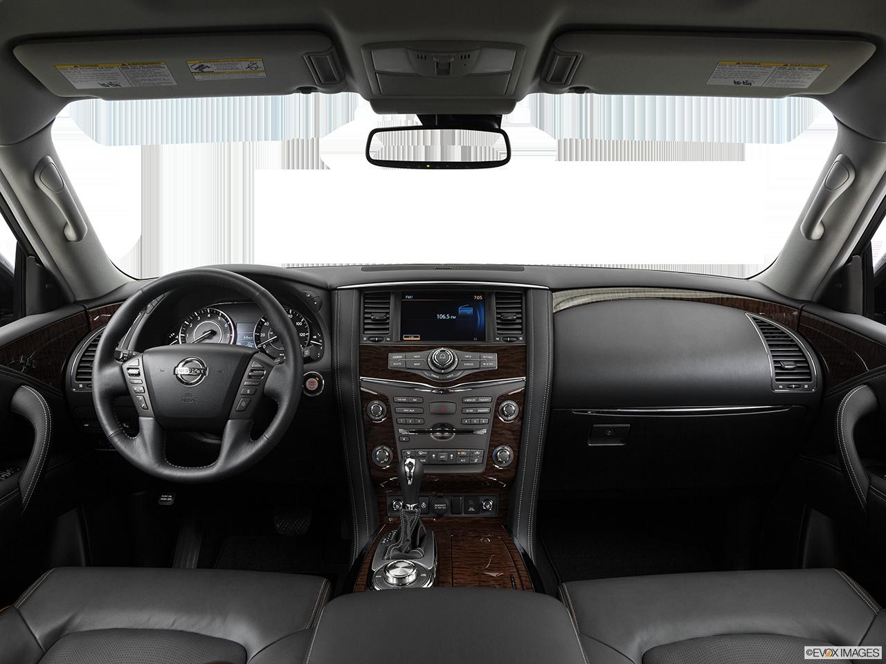 Interior View Of 2017 Nissan Armada® Inland Empire