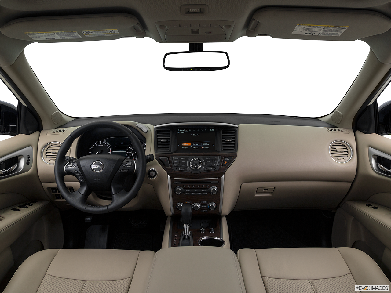 Interior View Of 2017 Nissan Pathfinder® Inland Empire