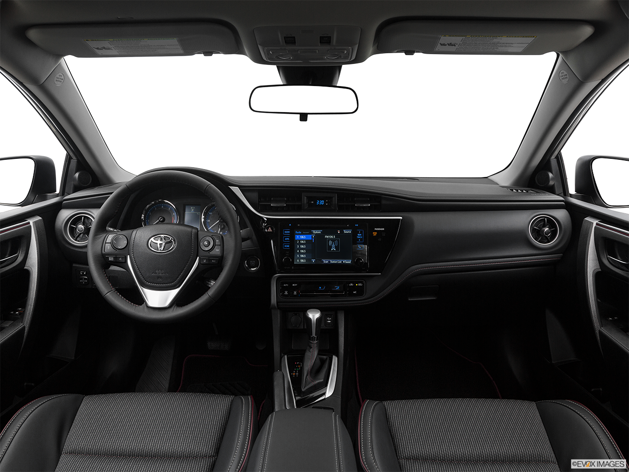 Interior View Of 2017 Toyota Corolla in Tustin
