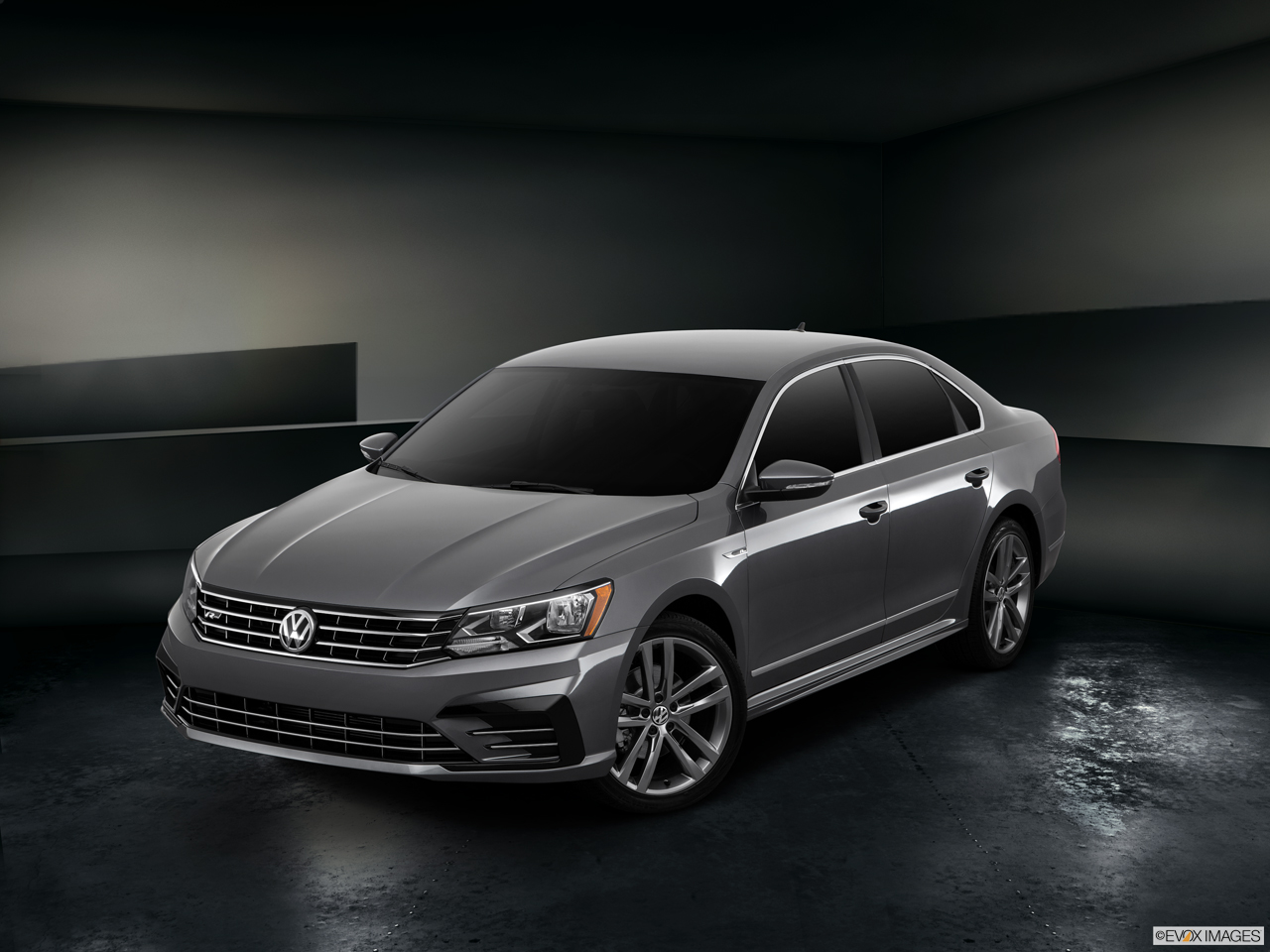 Exterior View Of 2017 Volkswagen Passat in Franklin