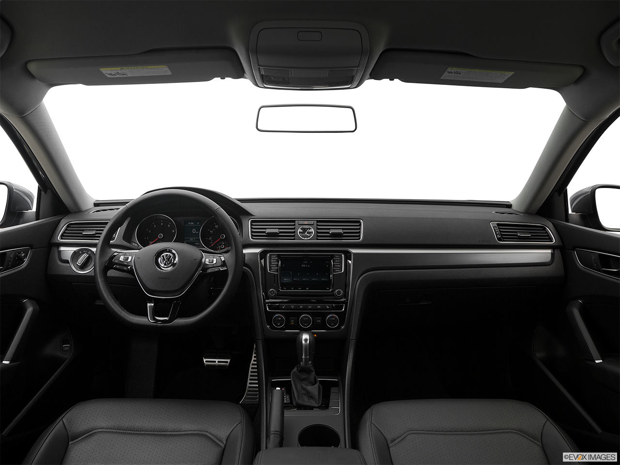 Interior View Of 2017 Volkswagen Passat in Franklin