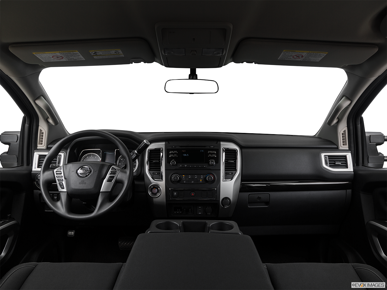 Interior View Of 2017 Nissan Titan  Coachella Indio Valley