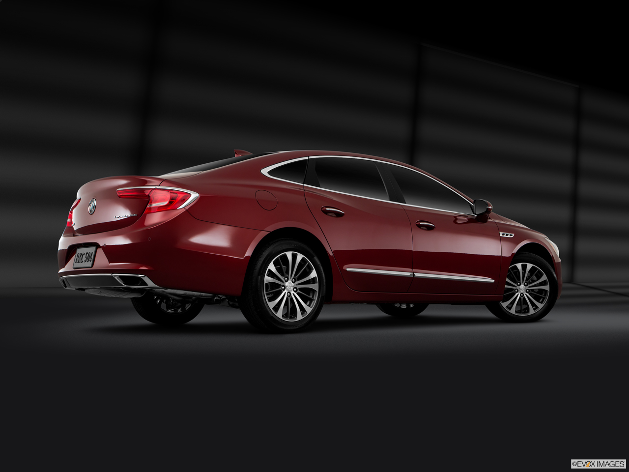 Exterior View Of 2017 Buick LaCrosse in Costa Mesa