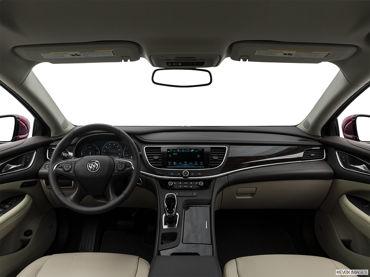Interior View Of 2017 Buick LaCrosse in Costa Mesa