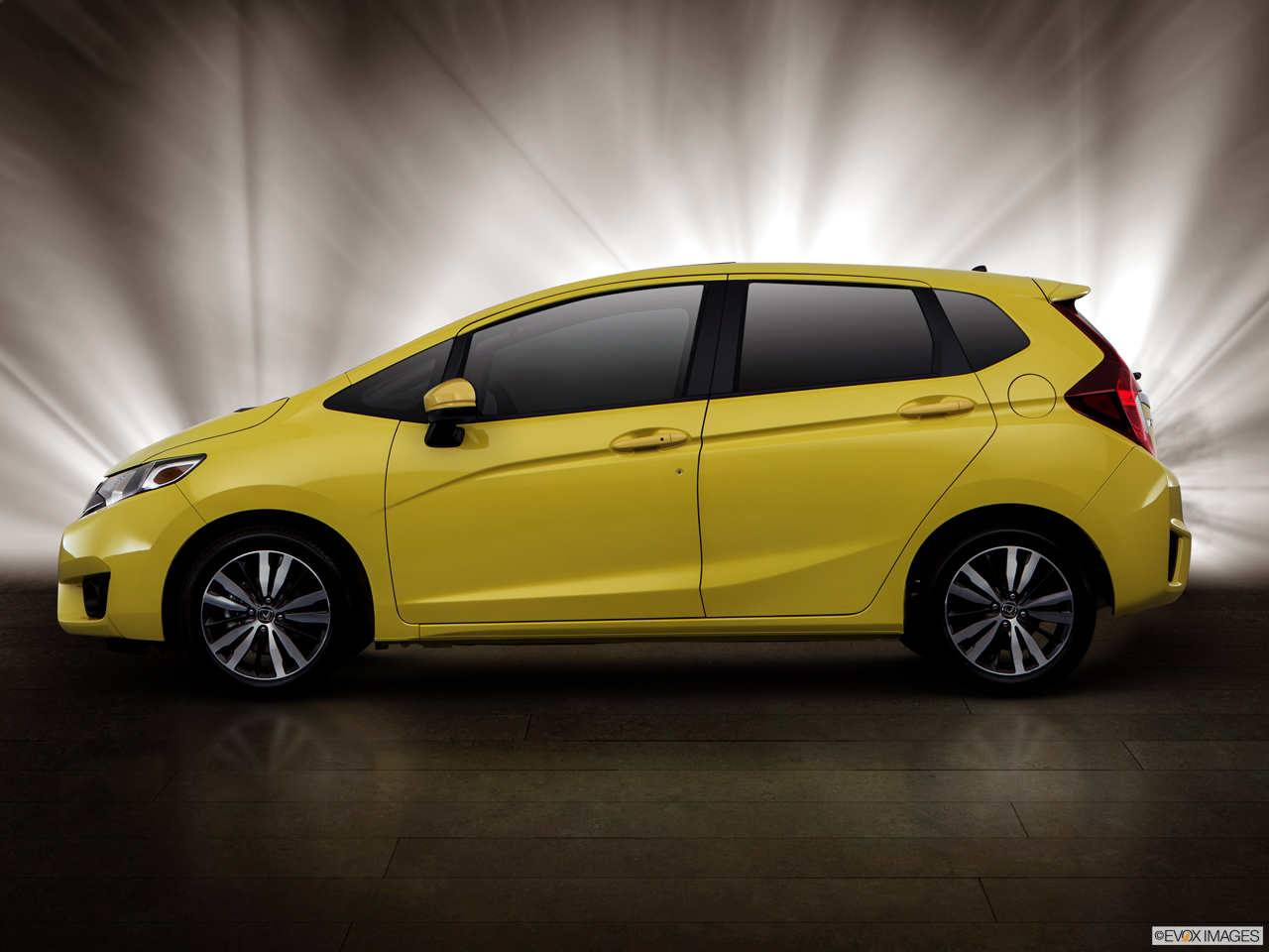 Exterior View Of 2017 Honda Fit serving San Bernardino