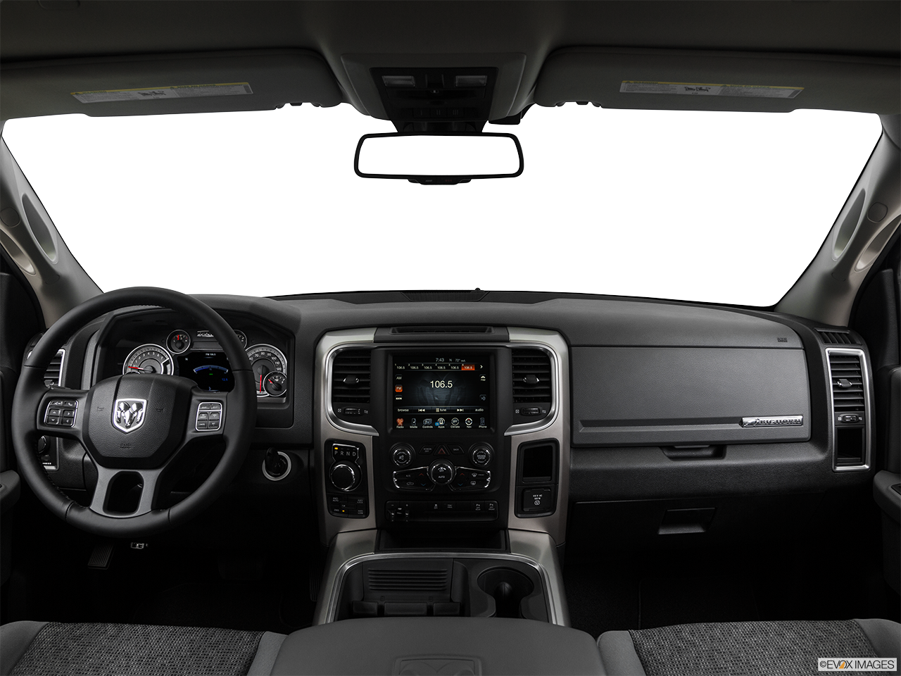 Interior View Of 2017 RAM 1500 in La Mesa