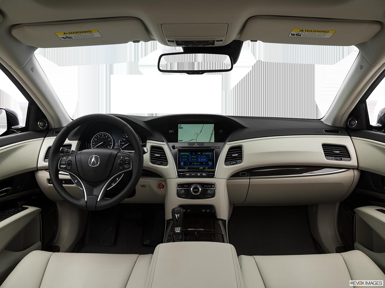 Interior View Of 2017 Acura RLX in San Bernardino