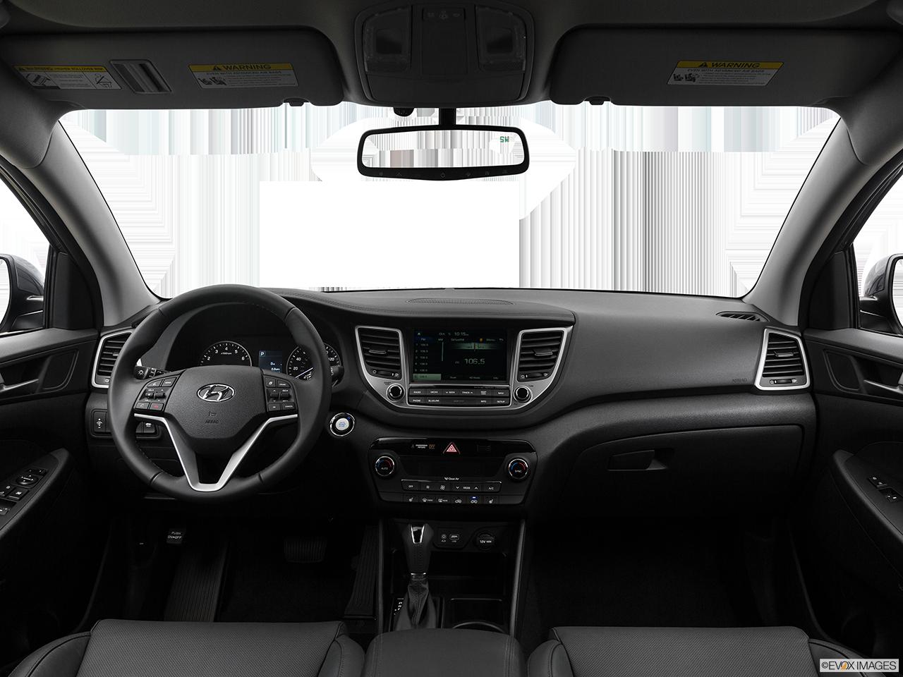 Interior View Of 2017 Hyundai Tuscon in Tracy