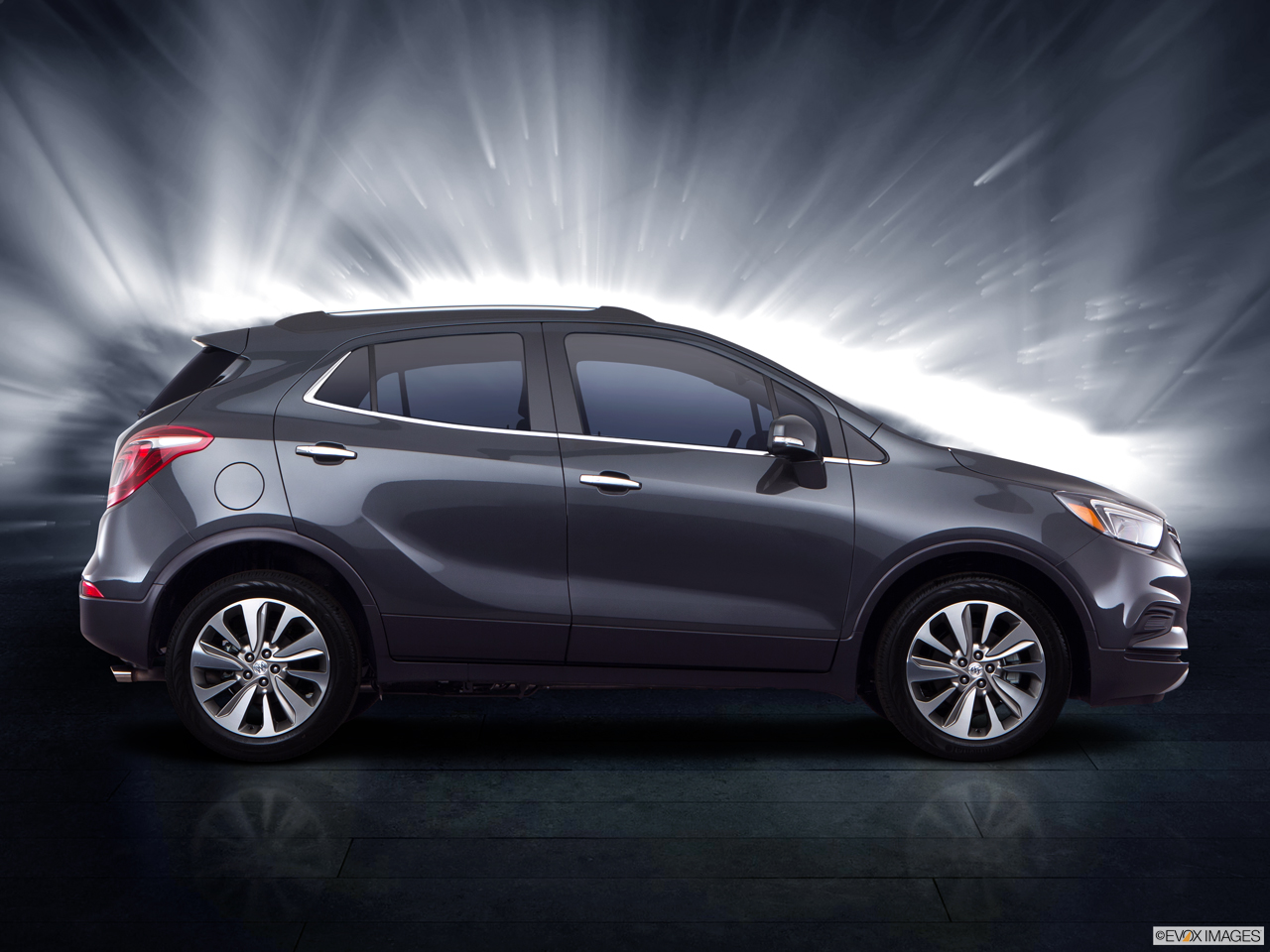 Exterior View Of 2017 Buick Encore in Costa Mesa