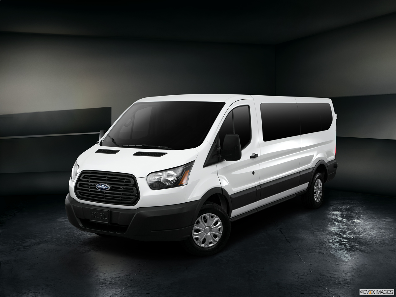 Exterior View Of 2017 Ford Transit in San Diego
