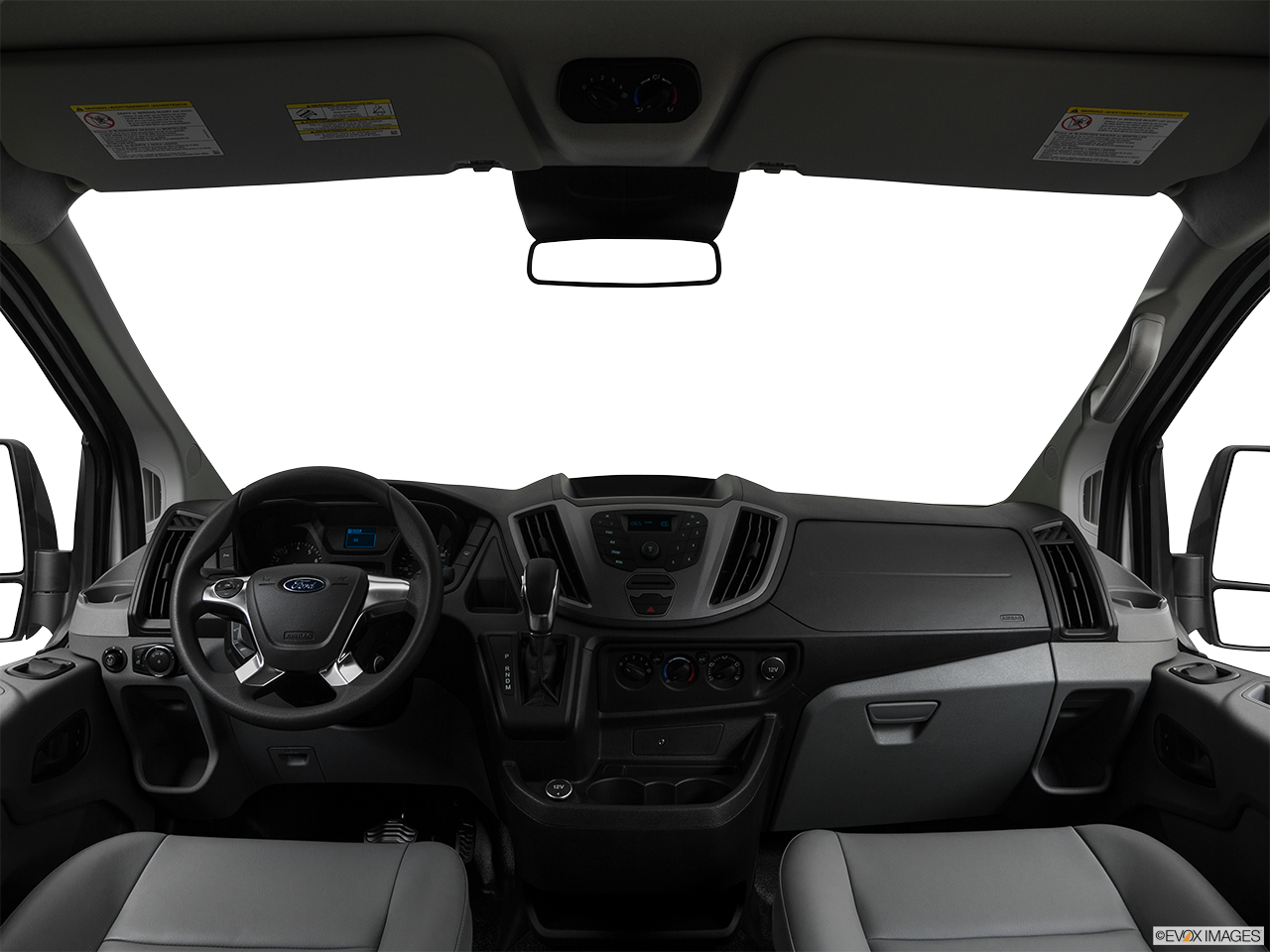 Interior View Of 2017 Ford Transit in San Diego