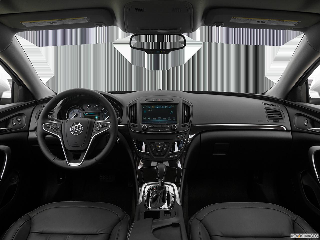Interior View Of 2017 Buick Regal in Costa Mesa