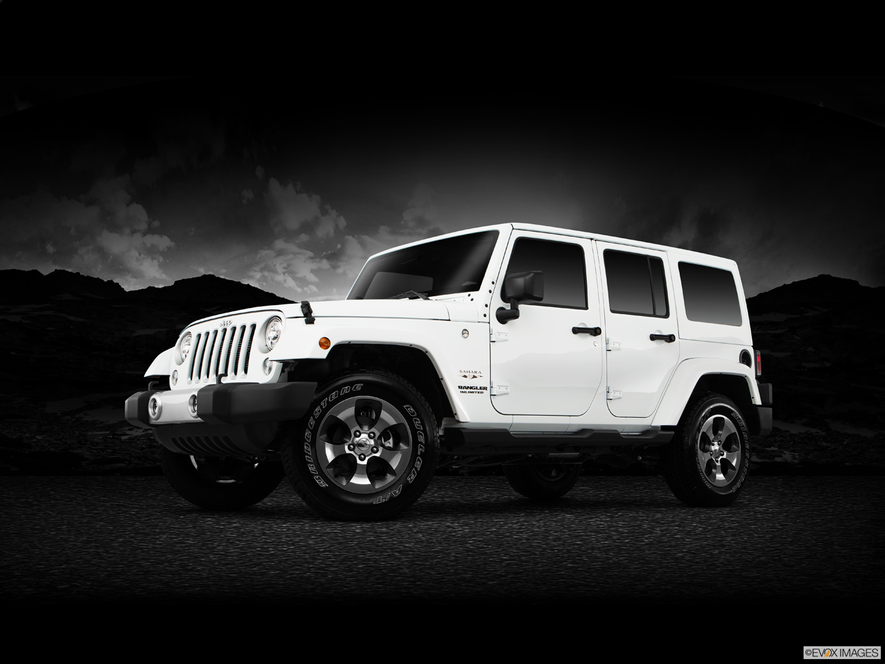 Exterior View Of 2017 Jeep Wrangler Unlimited in West Palm Beach