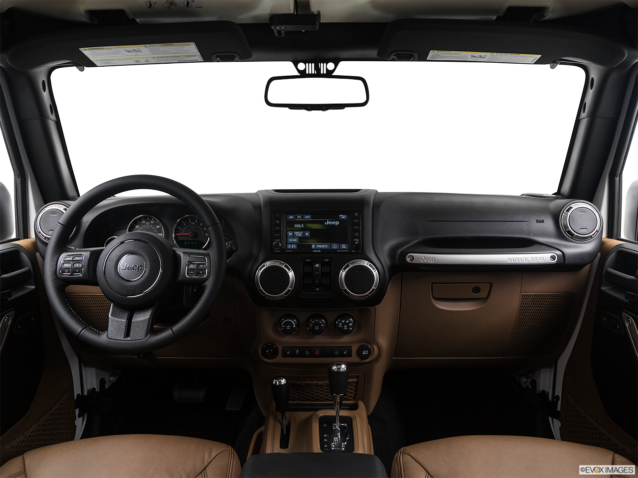 Interior View Of 2017 Jeep Wrangler Unlimited in West Palm Beach