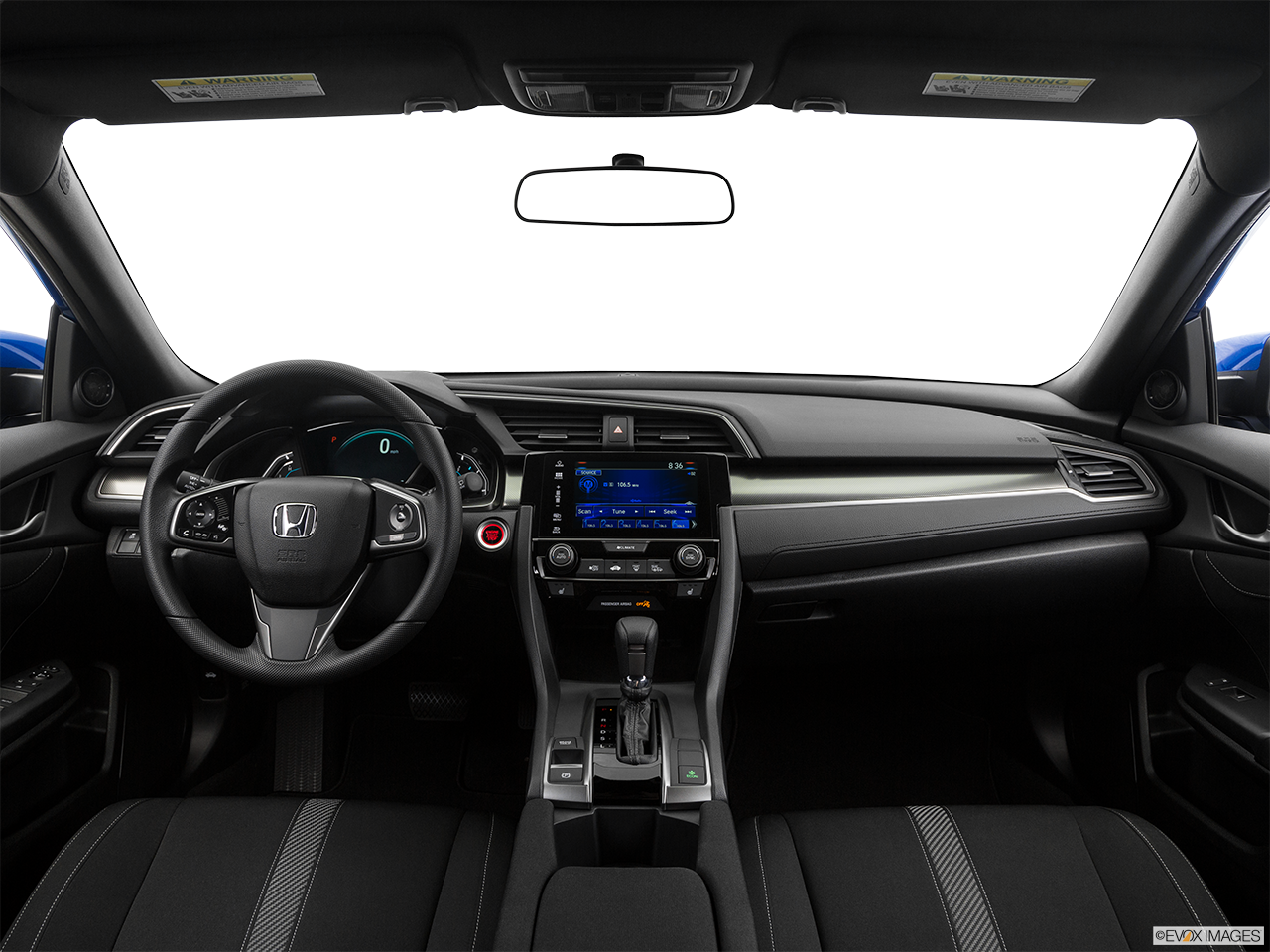 Interior View Of 2017 Honda Civic in Moreno Valley