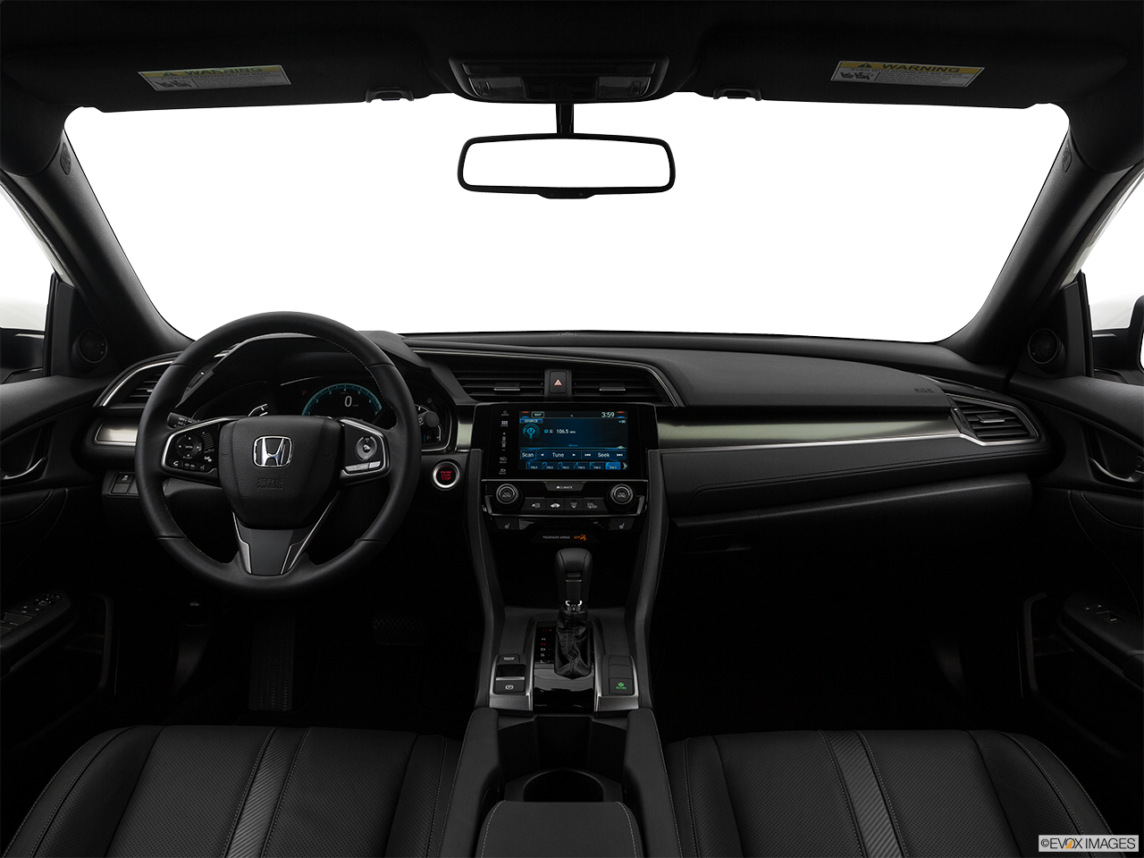 Interior View Of 2017 Honda Civic near San Diego