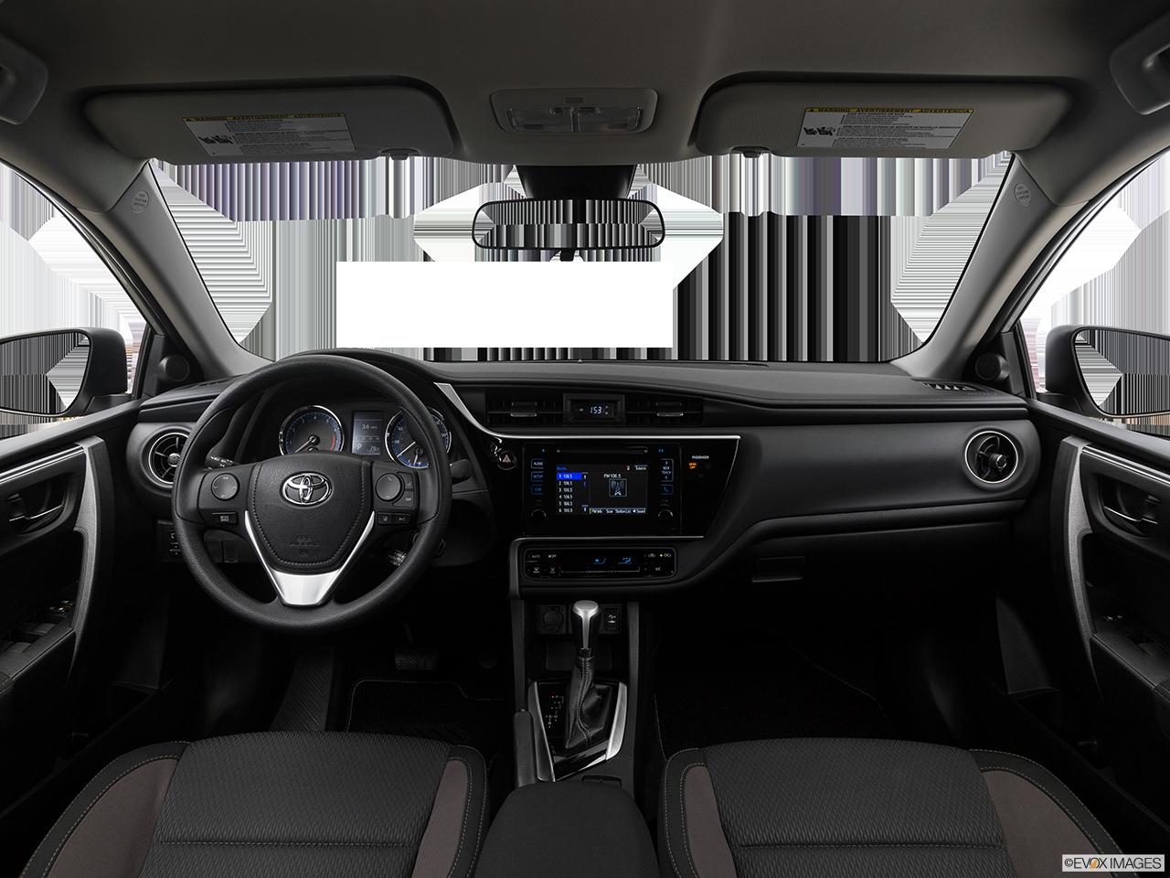 Interior View Of 2017 Toyota Corolla Riverside