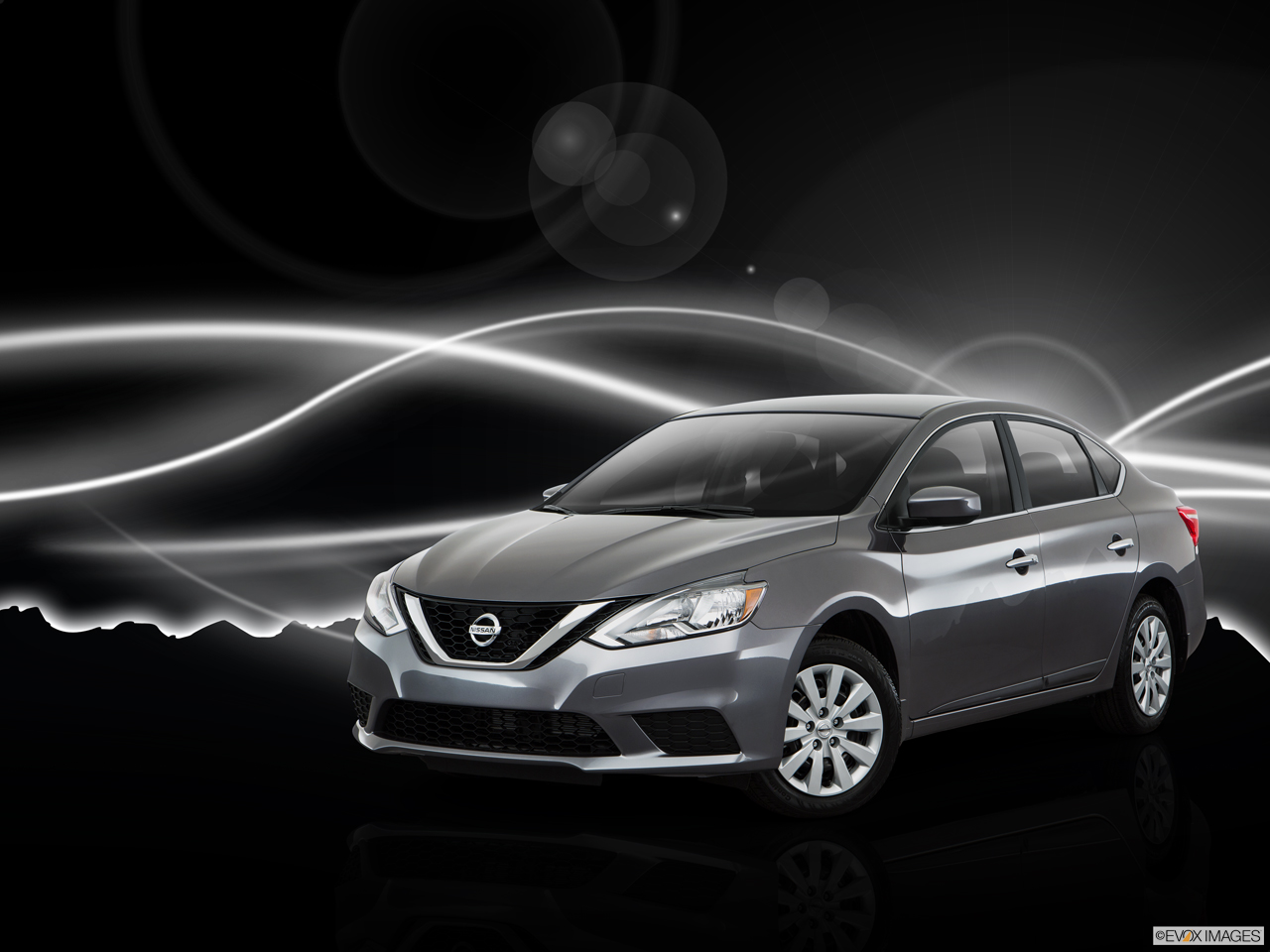 Exterior View Of 2017 Nissan Sentra in Ontario