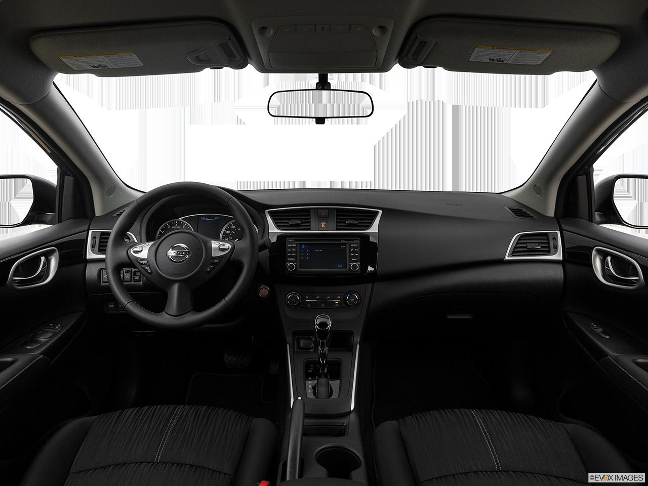 Interior View Of 2017 Nissan Sentra in Ontario