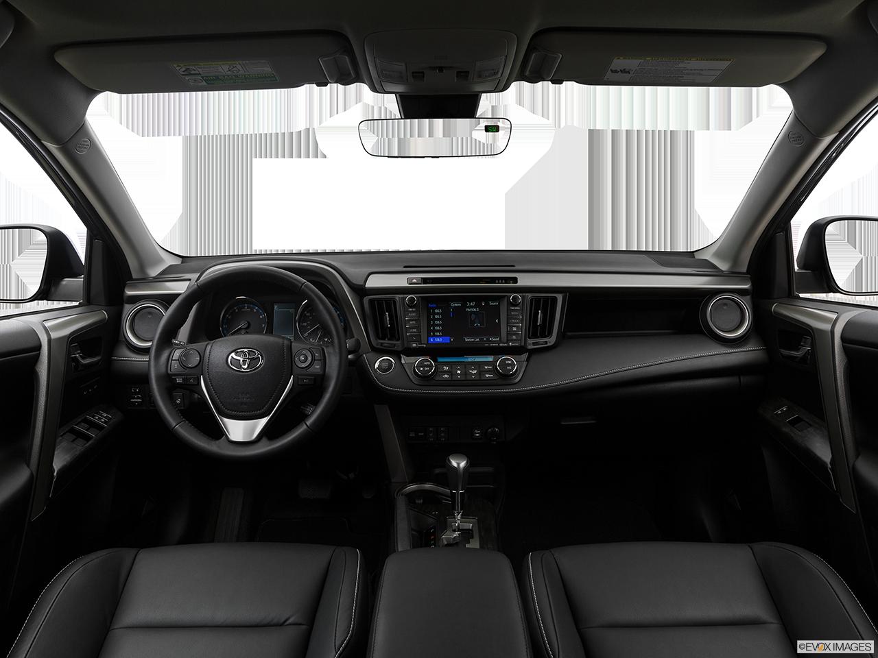 Interior View Of 2017 Toyota RAV4 Riverside