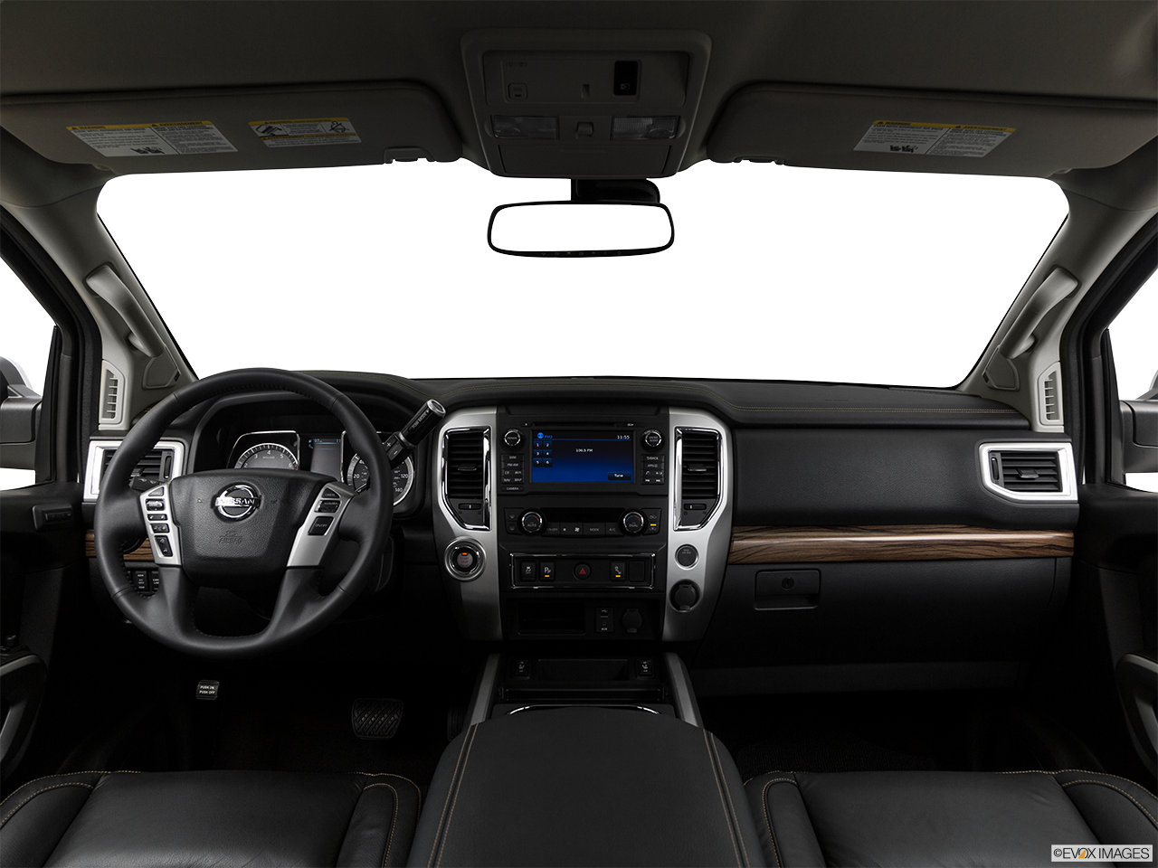 Interior View Of 2017 Nissan Titan in Ontario