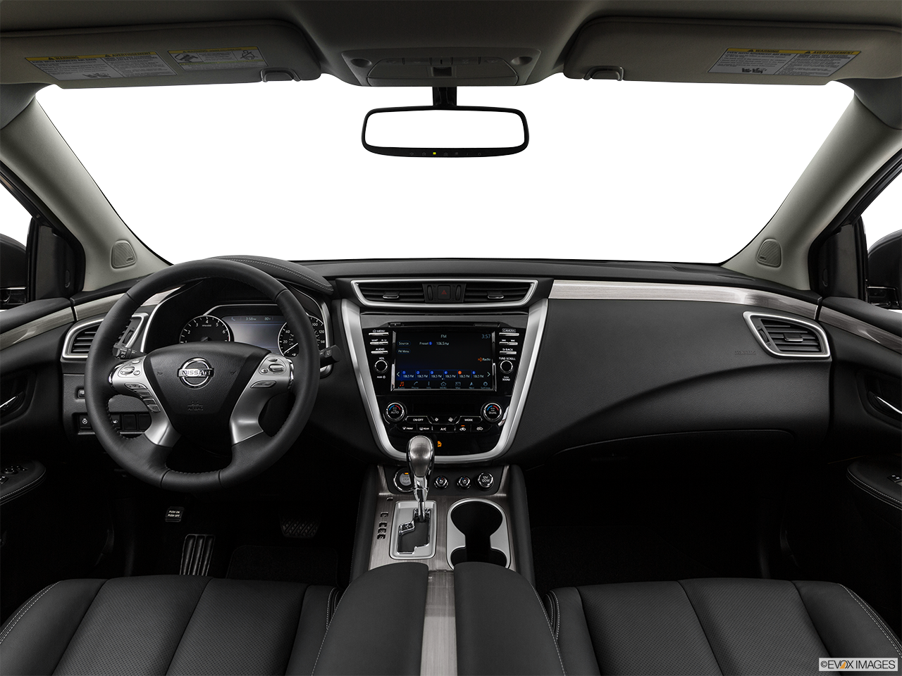 Interior View Of 2017 Nissan Murano in Ontario