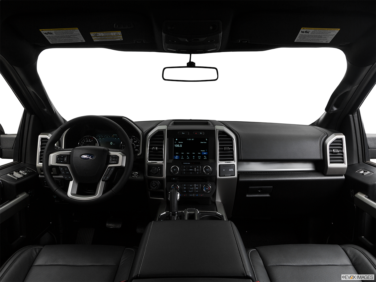 Interior View Of 2017 Ford F-150 in San Diego