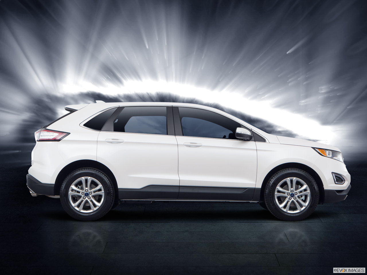Exterior View Of 2017 Ford Edge in Sunnyvale