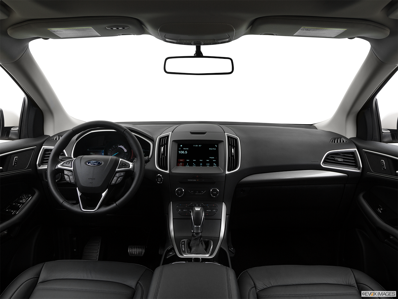 Interior View Of 2017 Ford Edge in Sunnyvale