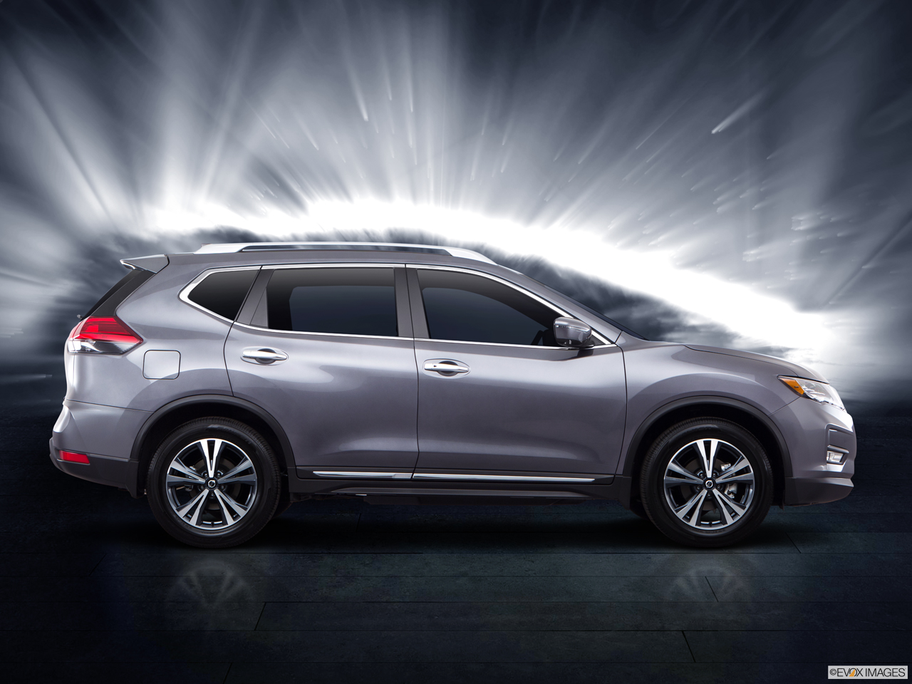 Exterior View Of 2017 Nissan Rogue® in Ontario