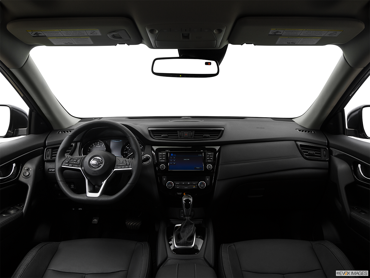 Interior View Of 2017 Nissan Rogue® in Ontario