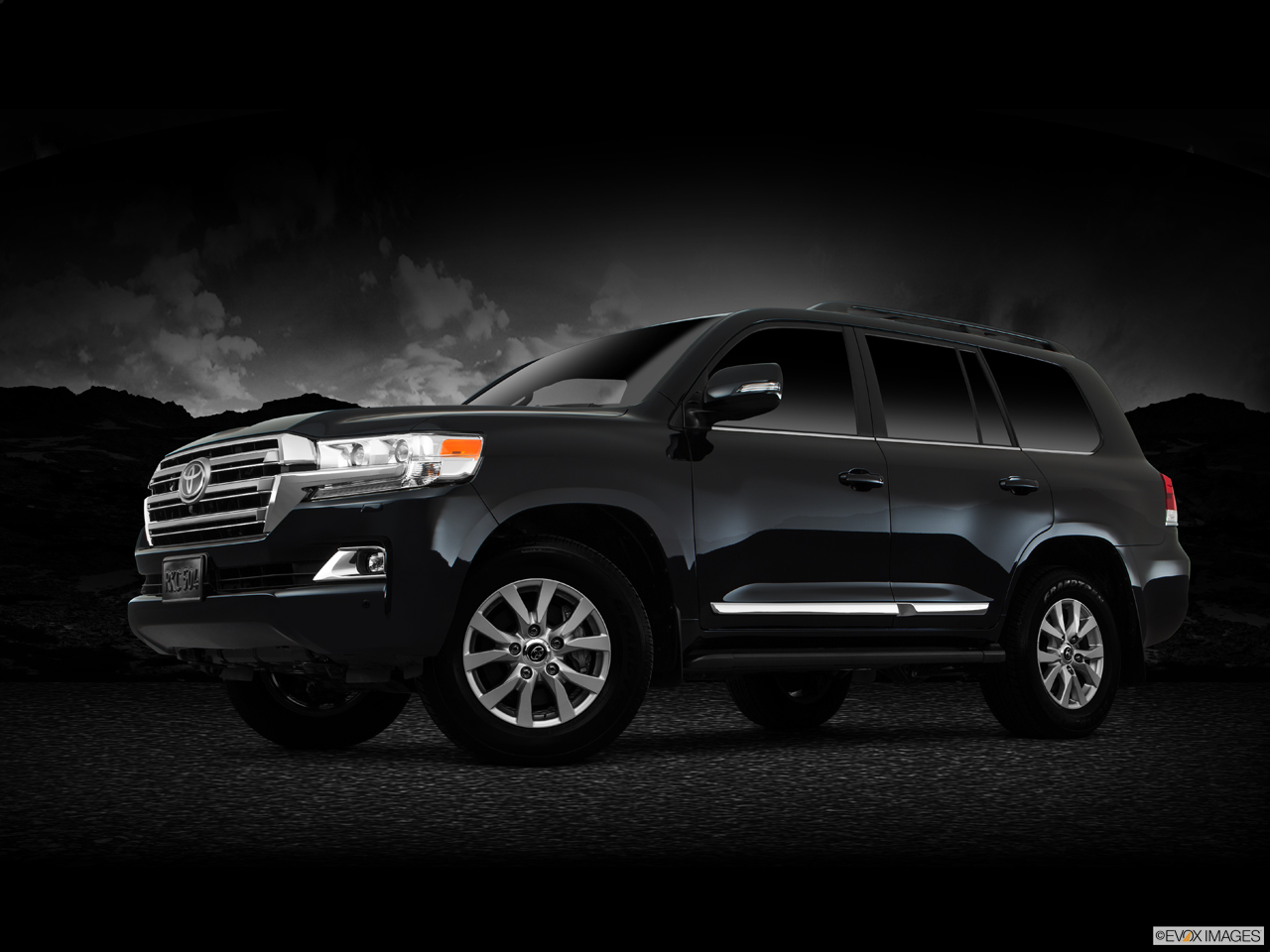 Exterior View Of 2017 Toyota Land Cruiser in Tustin
