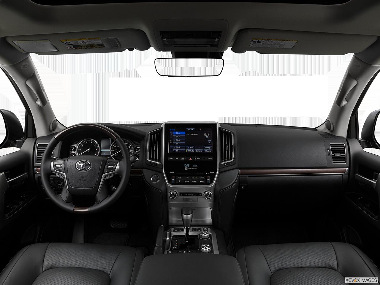 Interior View Of 2017 Toyota Land Cruiser in Tustin