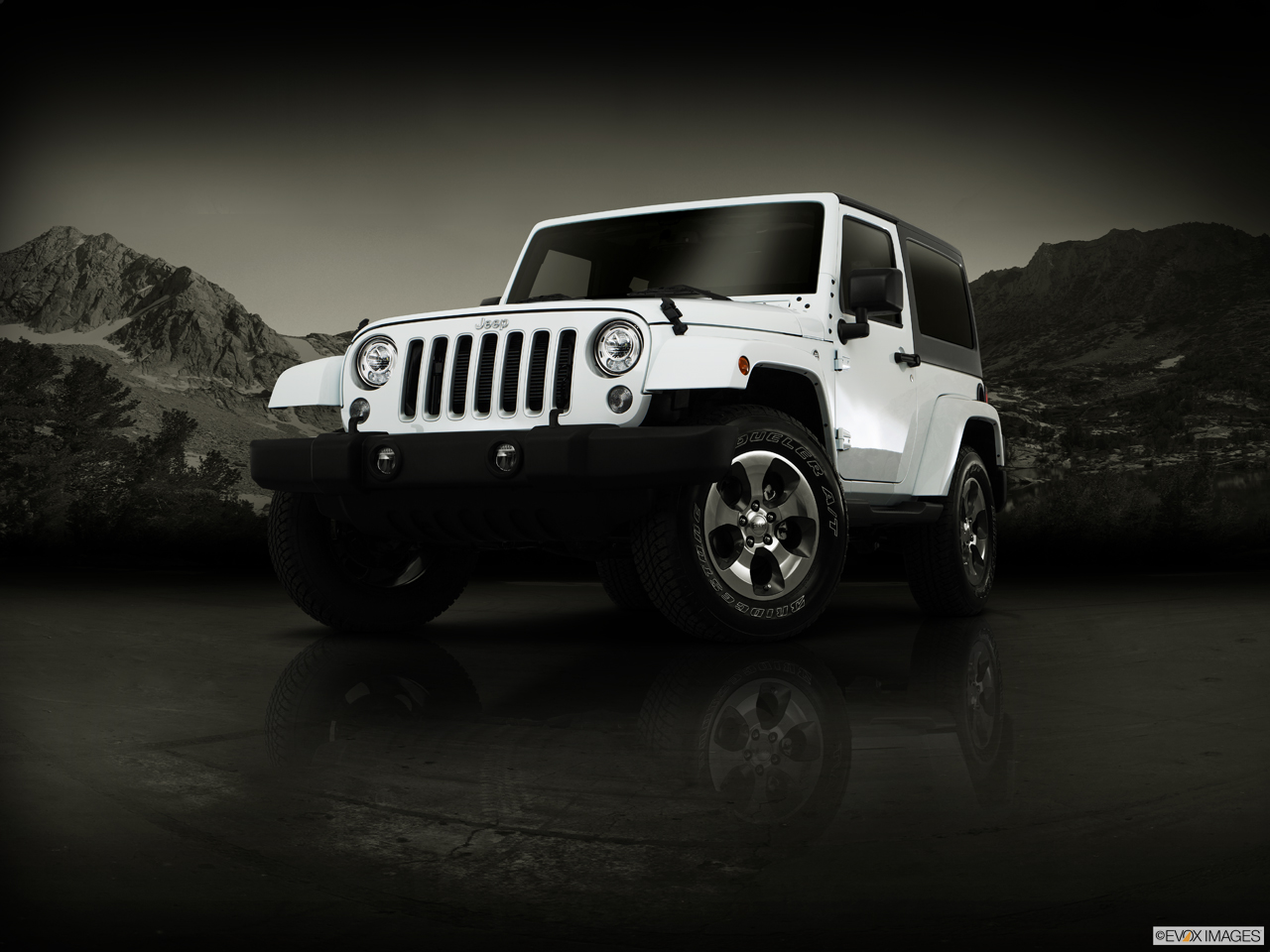 Exterior View Of 2017 Jeep Wrangler in Turnersville
