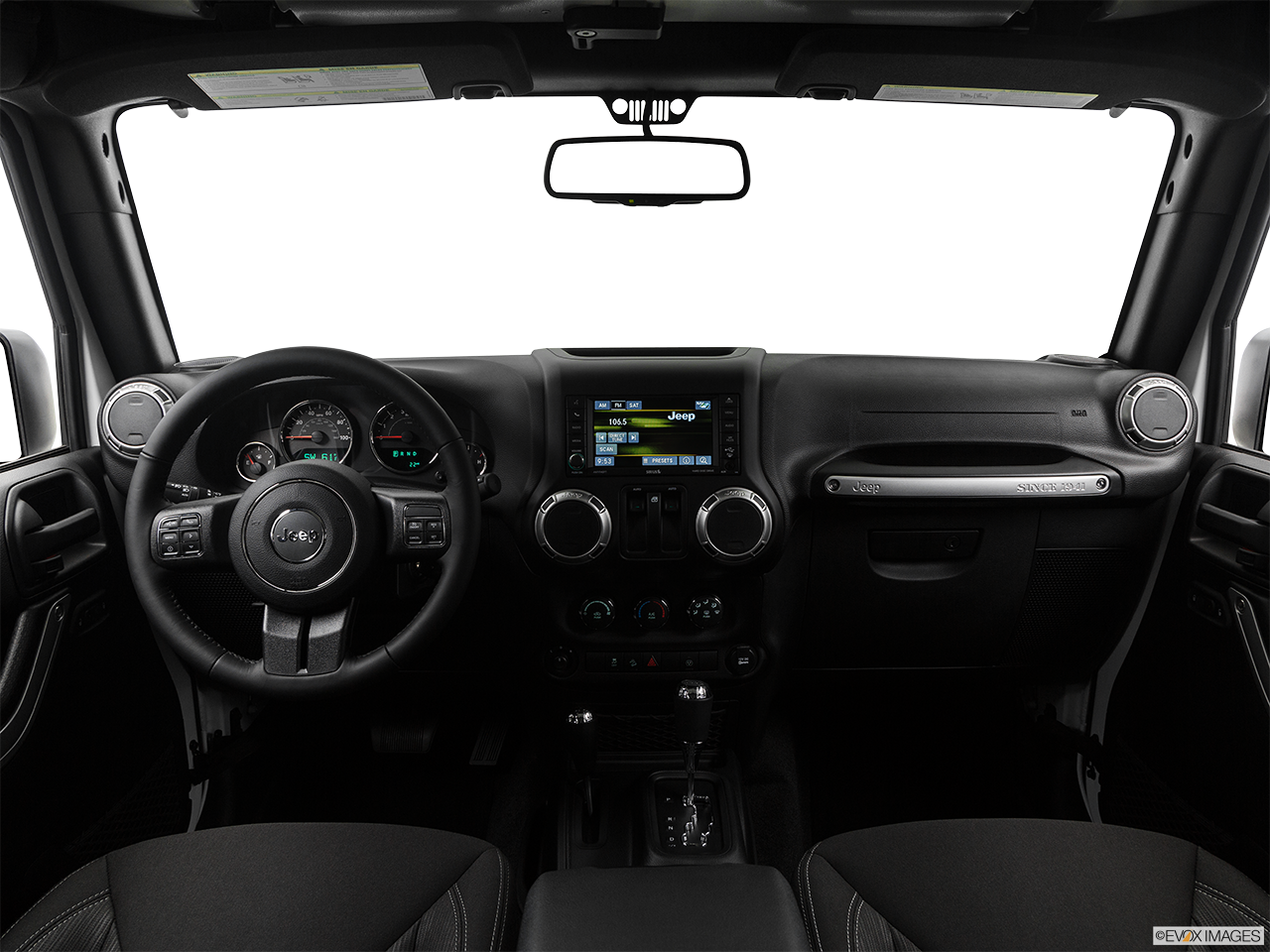 Interior View Of 2017 Jeep Wrangler in Turnersville