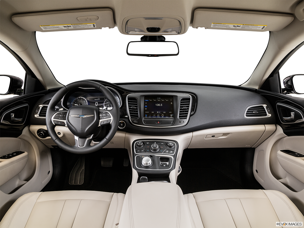 Interior View Of 2015 Chrysler 200 in Huntington Beach