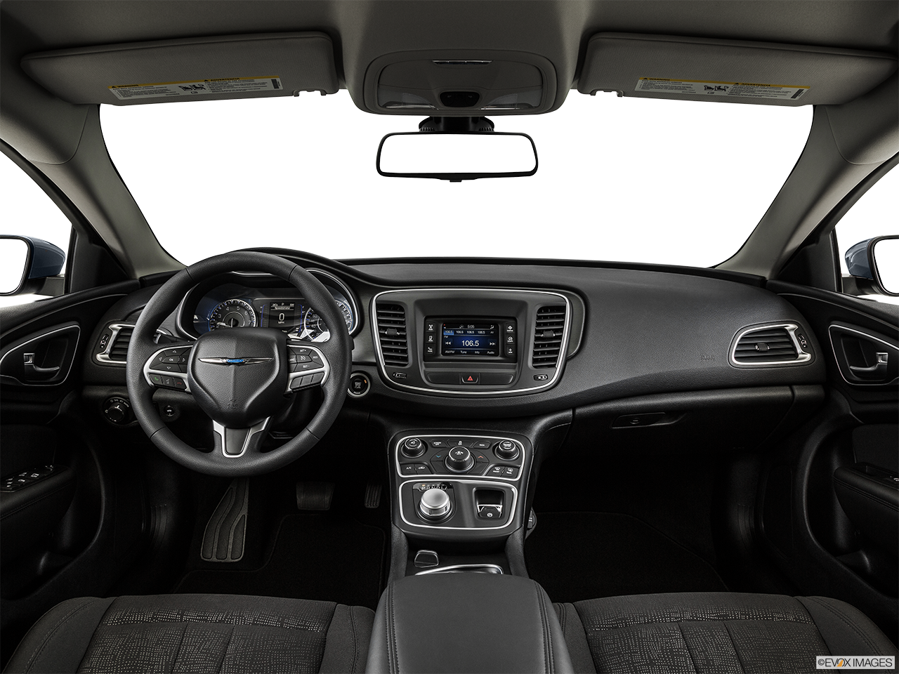 2015 chrysler 200 interior. interior view of 2015 chrysler 200 in la mesa